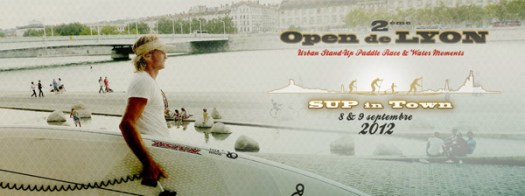 open de lyon 2012 stand up paddle