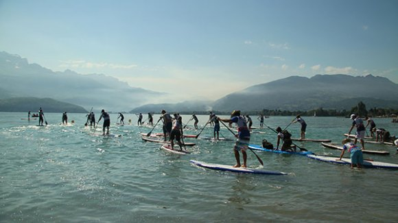 Crazy paddle games à Annecy