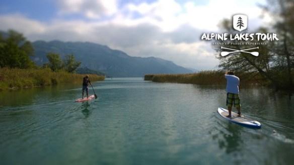 Alpine Lakes Tour Canal de Savière