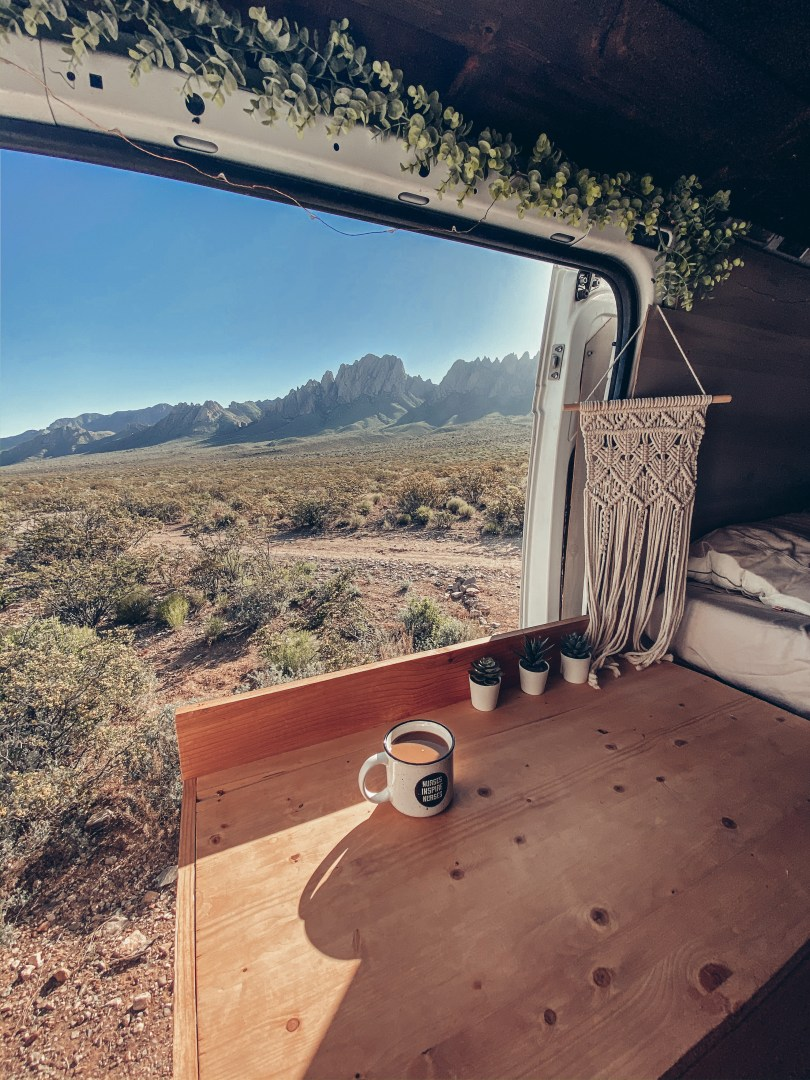 Van life, New Mexico