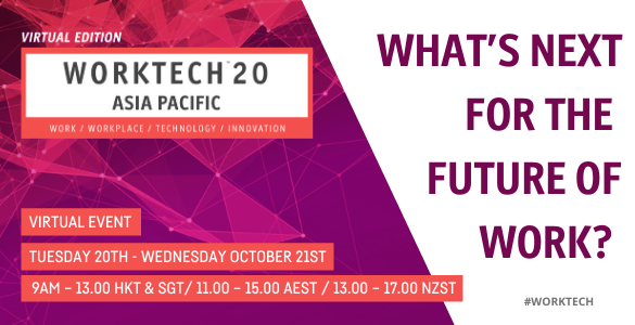 FOWE Virtual Conference: WORKTECH20 APAC