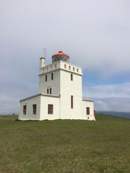Lighthouse at Dyrholaey