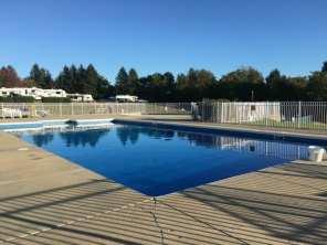 Pool at KOA Mystic
