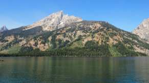 Jenny Lake from ferry