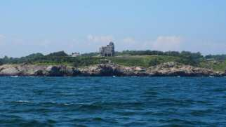 Jamestown from the water