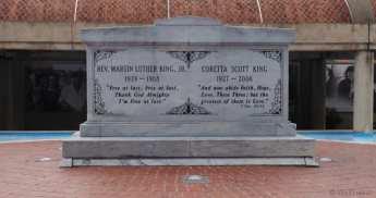 MLK grave