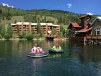 Copper Mountain bumper boats