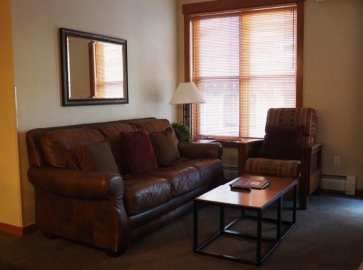 Copper One living room