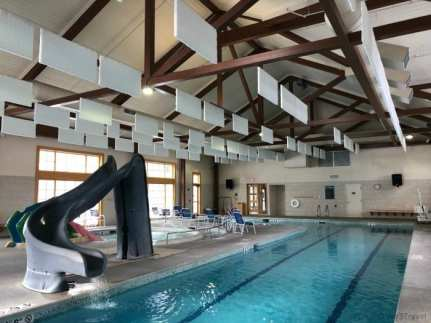 Spring house pool