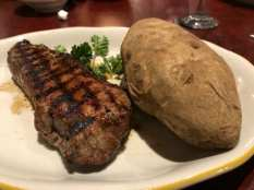Cattleman's steak