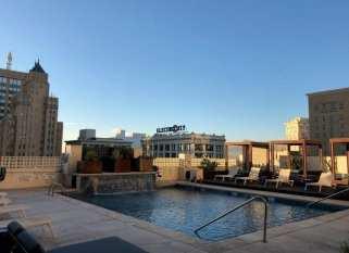 Hotel Indigo El Paso pool