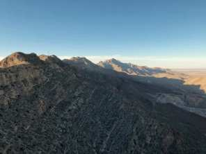 Mountains from Wyler aerial tram