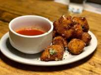 Oven and Tap fried mozzarella