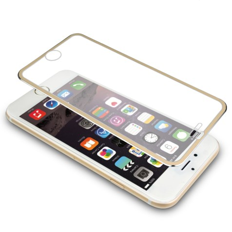 iphone 7 3D titanium alloy tempered glass