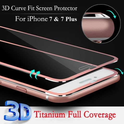 iphone 7 metal frame tempered glass