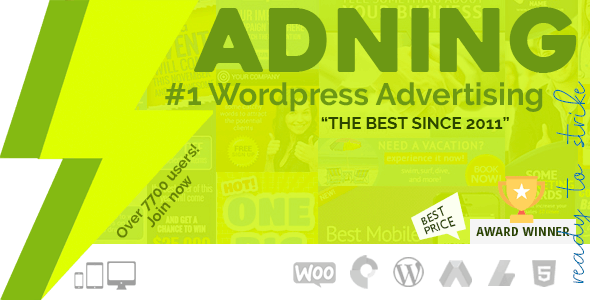 Adning Advertising 1.4.1 (Nulled) - All In One Ad Manager for WordPress