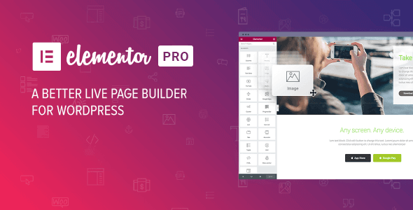 Elementor Pro 2.10.3 Nulled / Elementor Nulled 2.9.13 (+ Template Kits)