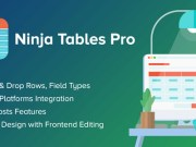 Ninja Tables Pro 4.1.4 Nulled – The Fastest and Most Diverse WP DataTables Plugin