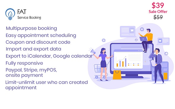 Fat Services Booking 3.5 – Automated Booking and Online Scheduling