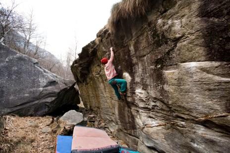 Rummikub 6b+ was the hardest and best boulder problem for Tarja.