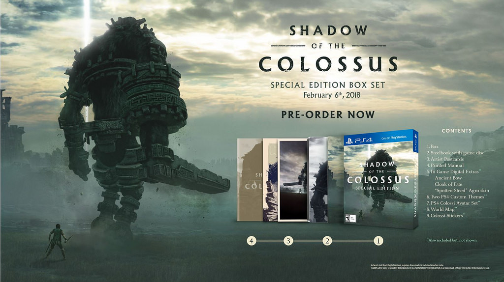 Weak_Gaming_Shadow_of_the_Colossus_special_edition
