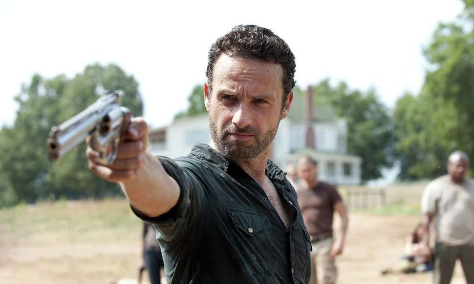 Rick Grimes to lead 3 AMC movies