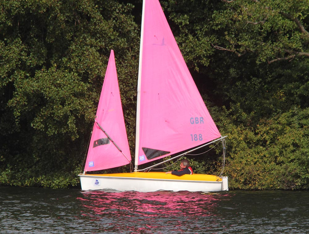 Who is sailing Pink Lady?