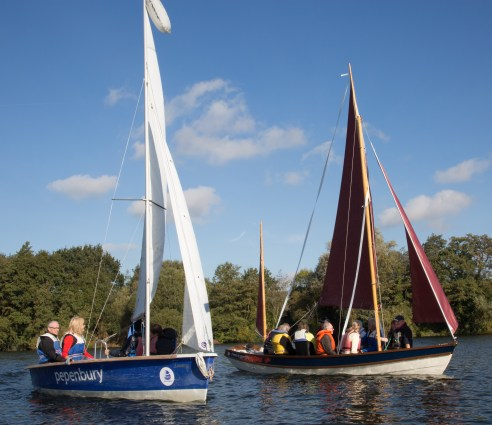 old and new Pepenbury boats