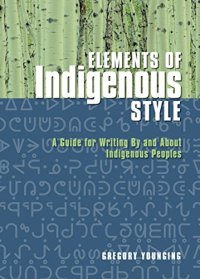 Elements of Indigenous Style book cover