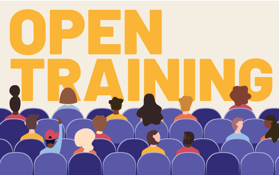 open training graphic