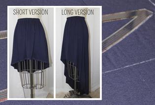 DIY High Low Skirt WeAllSew BERNINA USAs Blog