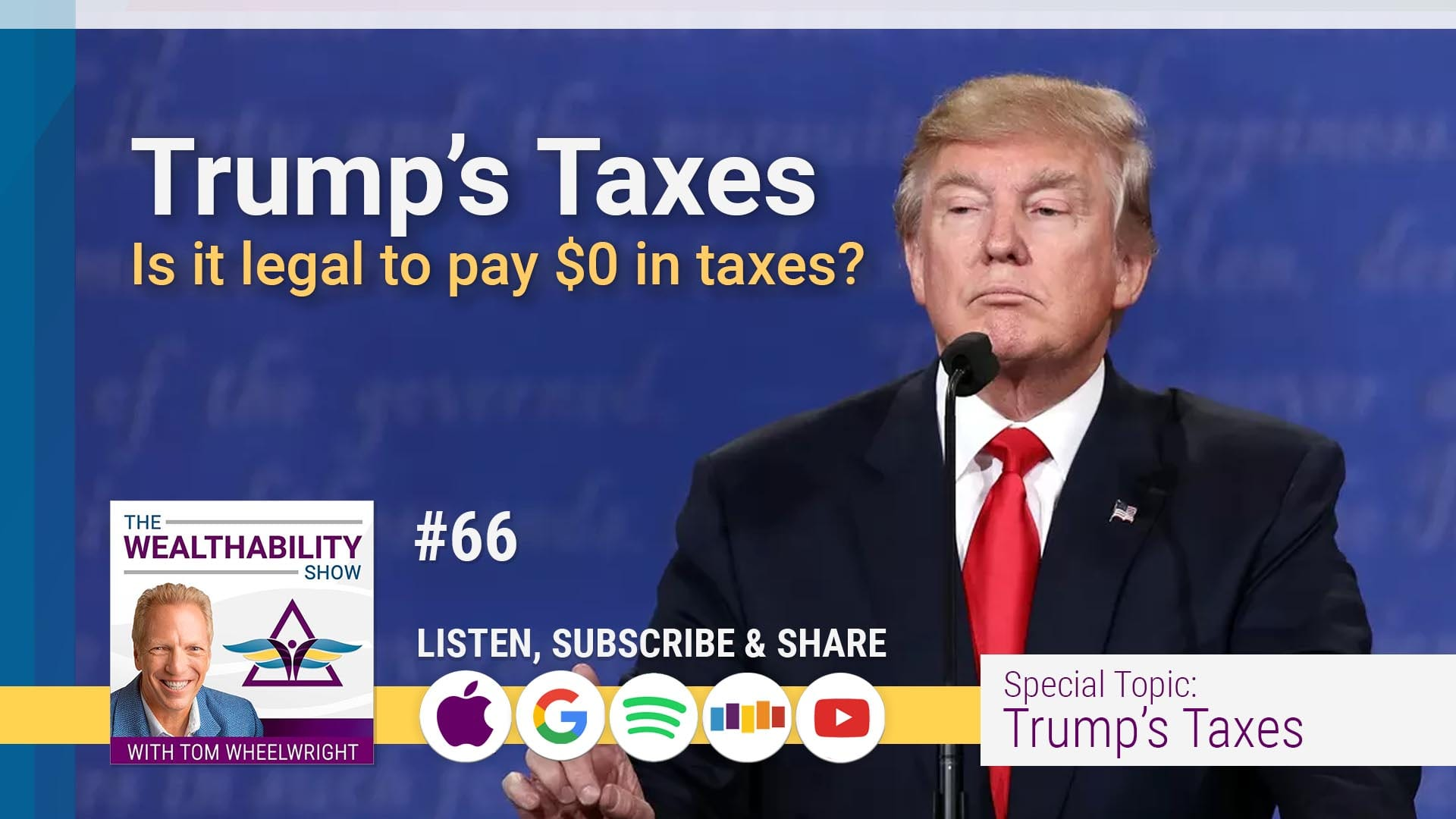 Trumps Taxes - Is it legal to pay $0 in taxes