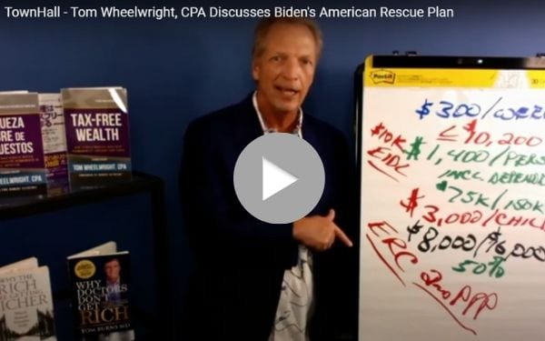 WealthAbility Townhall American Rescue Plan