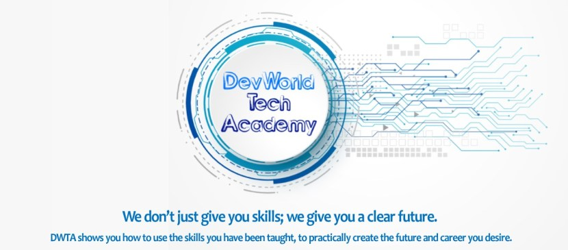 Devworld Tech Academy logo Images