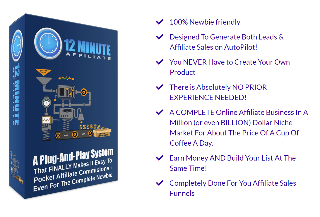 The 12 Minute Affiliate Review - Wealth Builder Tips