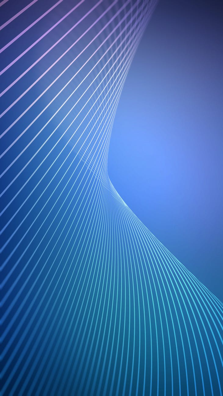 white and blue surface illustration