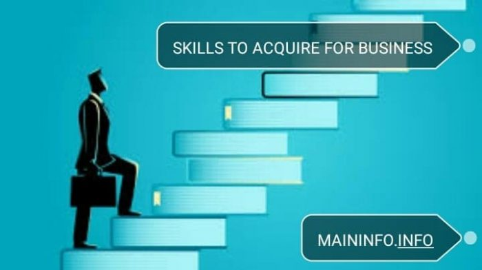 6 skills to acquire before you start a business online