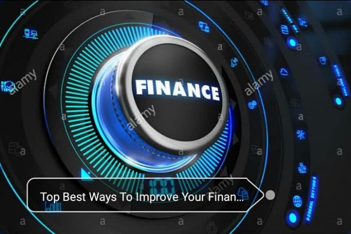 Top Best Ways To Improve Finances In 2020