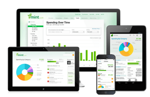 Mint financial tracker, planning and budgeting