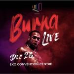 """Burna Boy set to shut Lagos Down with his """"Burna Live"""" Concert 