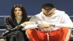 Kendall Jenner and her rumored boyfriend Ben Simmons cuddle up at a college basketball game