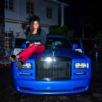 Billionaire businessman, E-money buys his wife a Rolls Royce Phantom as her 2018 Christmas gift(photos)