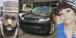 Timaya gifts his second babymama, Tama, a Range Rover for christmas