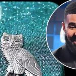 Drake buys iPhone case made of 18-karat gold with diamonds for $400,000