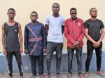 5  Suspected Internet fraudsters arrested by EFCC , recovered  N31m