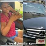 Regina Daniels Acquires New Benz (Photos and Video)