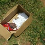 New Born Baby Found Dead After being Dumped in a Carton in Onitsha ,Anambra state