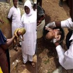Newborn Baby Thrown Inside A Toilet, Rescued by Hospital workers In Bauchi (Photo)