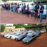 EFCC nabs 37 suspected yahoo boys In Owerri , Recovers 25 Exotic Cars (Photo)