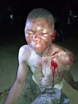24-year-old Criminal Beaten in Bayelsa  State After he Snatched a Girl's Phone at Gunpoint (Point)
